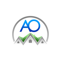 A. O. Company Logo (Real Estate)
