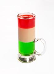 Traffic light cocktail