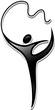 gymnastics. sports icon
