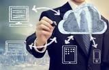 Fototapety Cloud Computing Concept