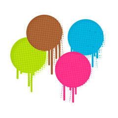 farbflecken verlaufen II