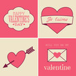 Retro Valentine's Day Cards
