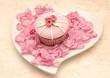 Постер, плакат: Cupcakes de san valentin
