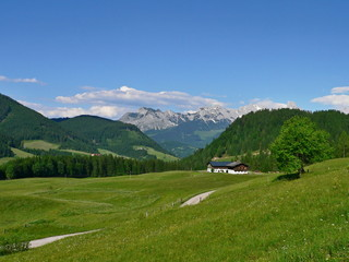 View of the Dachstein