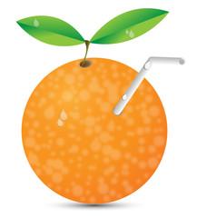 Vektor Orangenlimonade