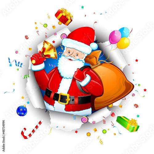 Santa with Goodies