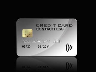 Carte de crédit sans contact