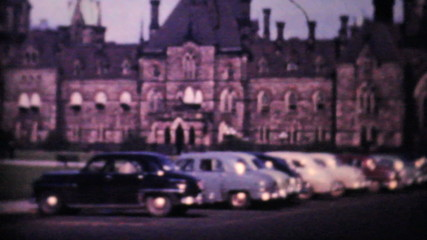 Canadian Parliament Buildings Ottawa 1958-Vintage 8mm film