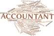 Постер, плакат: Word cloud for Accountant
