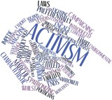 Word cloud for Activism