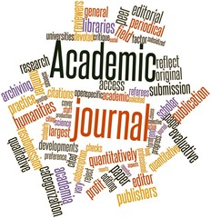 Word cloud for Academic journal