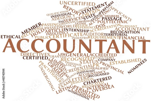Word cloud for Accountant