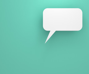 background with talking bubble