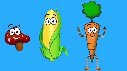 Explaining vegetables