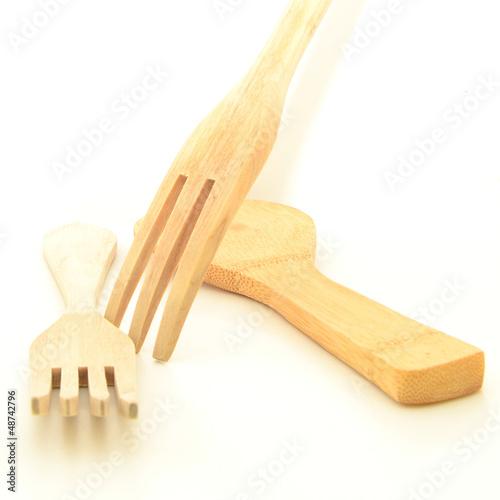 Útiles de madera para cocinar
