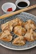 Dumplings mit Süsskartoffelfüllung
