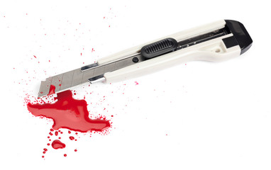 Blood and a Boxcutter