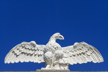 Eagle Stone Statue