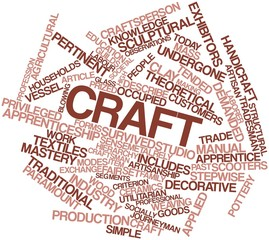 Word cloud for Craft
