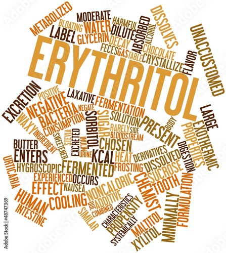 Word cloud for Erythritol