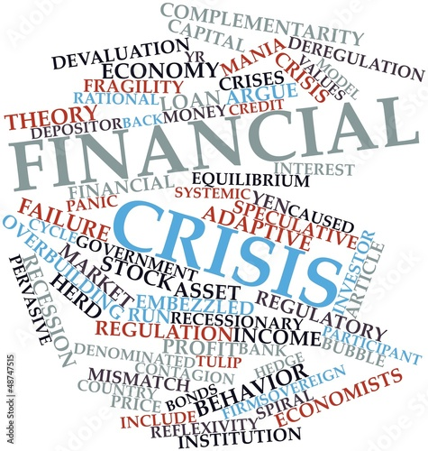 Word cloud for Financial crisis