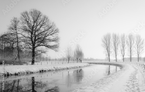 Dreamy winter landscape