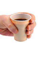 Un café dans un gobelet