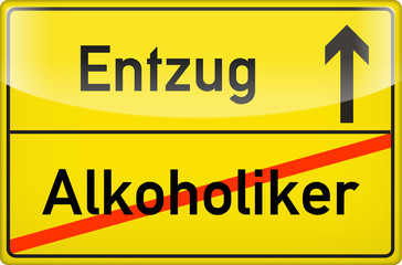 Alkoholiker-Entzug