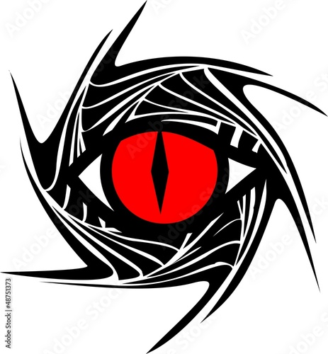 Drachenauge - Drache / Auge