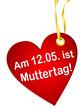 Anhänger - Muttertag 2013 (I)