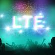 LTE  highspeed concept 3D
