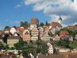 Blick auf Altensteig, Nordschwarzwald