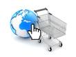 E-shopping - Concept illustration