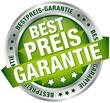 """Button Banner """"Bestpreis-Garantie"""" grün/silber"""