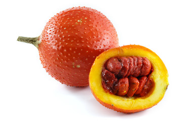 A Southeast Asian fruit, commonly know as Gac