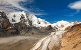 Grossglockner in Austria - view of mountains and glacier