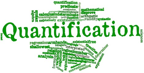 Word cloud for Quantification