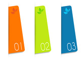 Three web card