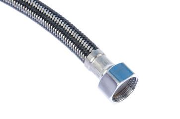 Gray corrugated pipe