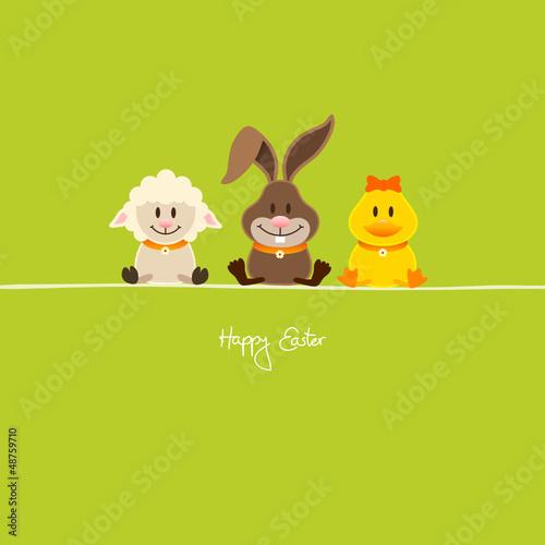 Lamb, Bunny & Duck