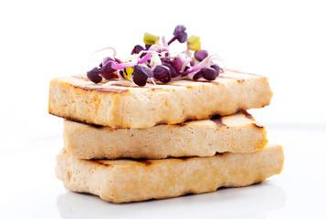 Tofu gegrillt