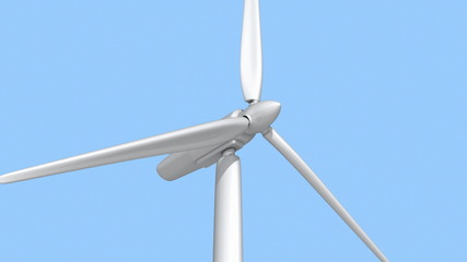 Wind Turbine - seamless animation with alpha mask