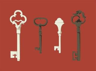 Old-style key