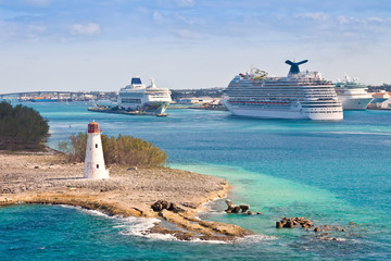 Cruise Port in Nassau, Bahamas