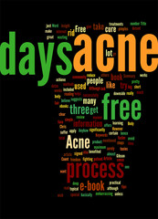 Acne Free in 3 days review Concept