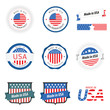 Made in USA labels, badges and stickers
