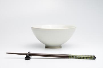 お茶碗 箸