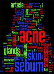 Acne Why It Forms More During Adolescence Concept
