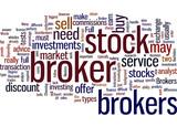 Choosing A Broker Concept poster
