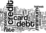 3 Step Formula to Get Out Of Debt Concept